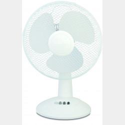 Ventilateur table 30cm blanc